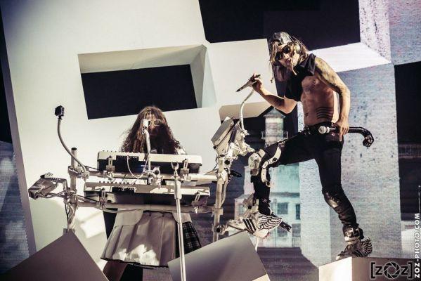 Shaka Ponk, Halle Tony Garnier, le 30 octobre 2014.