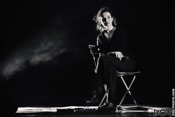 Claire Diterzi, Espace Albert Camus (Bron), le 2 avril 2015.