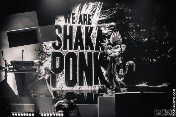 Shaka Ponk, Zénith (Saint-Étienne), le 28 mars 2015.