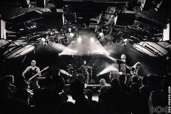 Lofofora, la Cave à Musique (Mâcon), le 10 avril 2015.