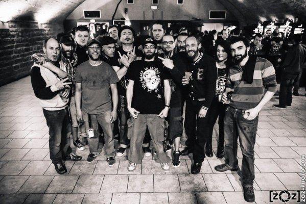 Lofofora & CoredumP, la Cave à Musique (Mâcon), le 10 avril 2015.