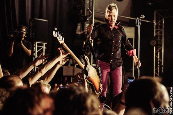 """The Fleshtones, festival """"Musiques en stock"""" (Cluses), le 4 juillet 2015."""