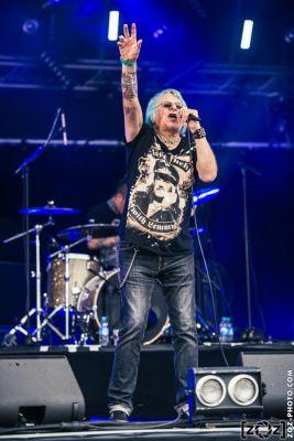 UK Subs au Hellfest à Clisson, le 18 juin 2016. Festival de musiques extrêmes et metal en France.