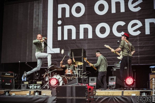 No One is Innocent, Hellfest (Clisson), le 19 juin 2016.