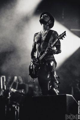 Jane's Addiction au Hellfest à Clisson, le 19 juin 2016. Festival de musiques extrêmes et metal en France.