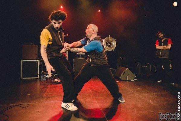 [zOz] journal: Naouack, concert à La Tannerie (Bourg-en-Bresse), le 14 avril 2017.