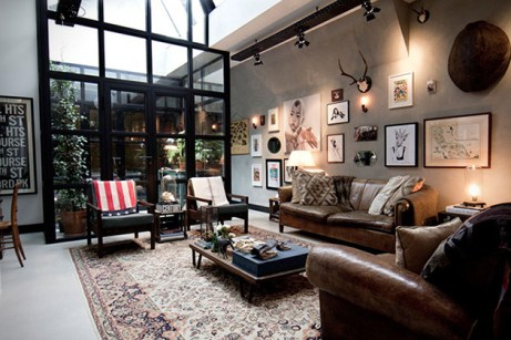 Old-Amsterdam-Garage-Turned-Into-Posh-Bacehlor-Pad-2