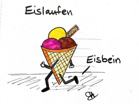 Eislaufen / Eisbein