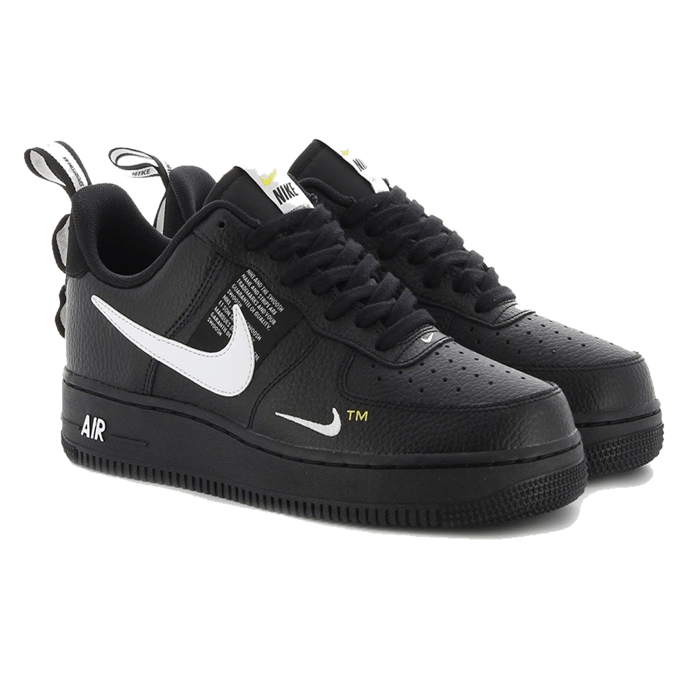 noir nike air force