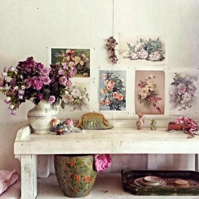 vintage, flowers