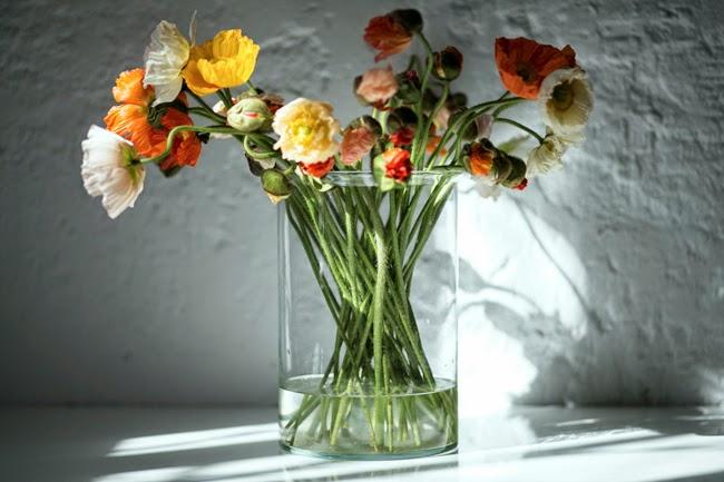 szklany duzy wazon