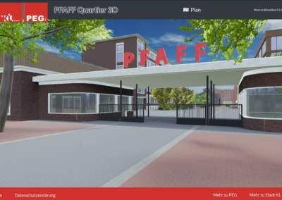 PEG – Entwicklung von Industriegebieten – Web 3D | VR | AR