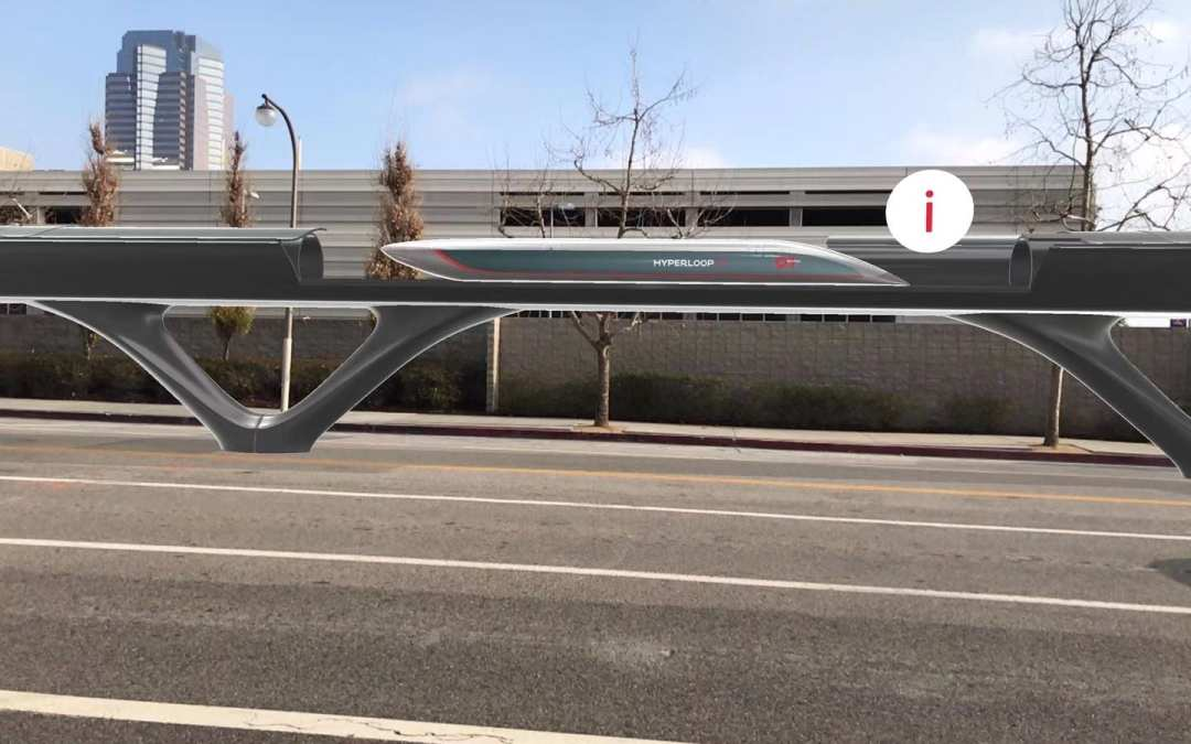 ZREALITY und HyperloopTT präsentieren mobile Augmented-Reality-Anwendung zur Visualisierung des ersten vollwertigen Hyperloop-Systems