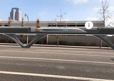 HyperloopTT – Transportation System – AR