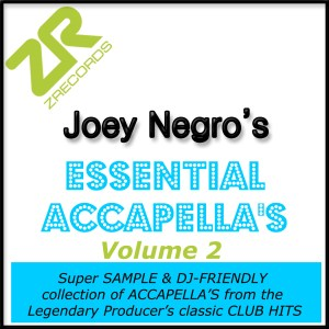 Joey Negro's Essential Acapellas Volume 2