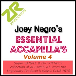 Joey Negro's Essential Acapellas Volume 4