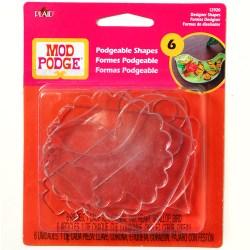 Mod Podge  Acrylic Shapes – Designer Shapes, 12920