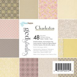 Набір картону Charleston Diane Kappa, 15×15 см, GCD Studios, 2012