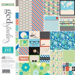 Набір картону Special Delivery Heidi Sonboul, 30х30 см, GCD Studios, 2049