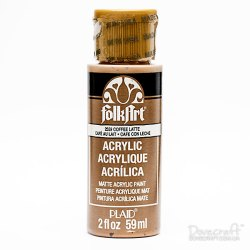 Фарба акрилова Coffee Latte, FolkArt , 59 мл, 2559