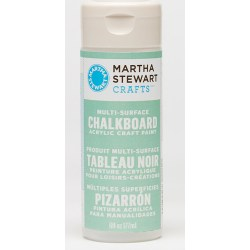 Multi-Surface Chalkboard Acrylic Craft Paint – Green, Martha Stewart Crafts, 32215