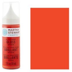 Фарба Gloss Opaque Glass Paint – Geranium, Martha Stewart Crafts™, 33112