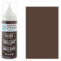 Фарба Gloss Opaque Glass Paint – Vanilla Bean, Martha Stewart Crafts™, 33117