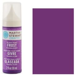 Фарба Frost Translucent Glass Paint – Pacific Iris, Martha Stewart Crafts™, 33189