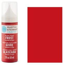 Фарба Frost Translucent Glass Paint – Habanero, Martha Stewart Crafts™, 33193