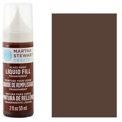Фарба Liquid Fill Transparent Glass Paint – Gingersnap, Martha Stewart Crafts™, 33220