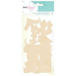 Дерев'яні фігурки Polka Dot Party, American Crafts, 366204