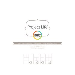 Файли для альбому Small Variety Pack 1, Project Life, American Crafts, 12 шт, 380024