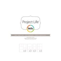 Файли для альбому Small Variety Pack 1, Project Life, American Crafts, 12 шт, 380024