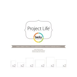 Файли для альбому Small Variety Pack 2, Project Life, American Crafts, 12 шт, 380025