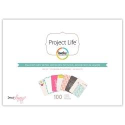 Міні набір Polka Dot Party, Project Life, American Crafts, 380182