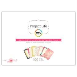 Міні набір Flea Market, Project Life, American Crafts, 380184
