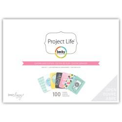 Міні набір Daydreamer, Project Life, American Crafts, 380312