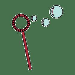Штамп акриловий Bubbles, 400131