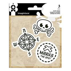 Набір штампів Pirate, Imaginisce, 400781