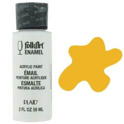 Фарба акрилова Yellow Ochre, FolkArt Enamel, 59 мл, 4015