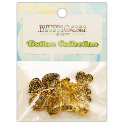Ґудзики Vintage Gold, Buttons Galore, 4401
