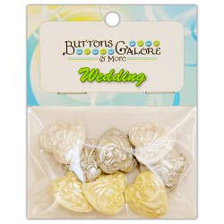Ґудзики Wedding Bliss, Buttons Galore, 4416