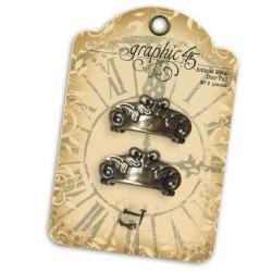 Металеві прикраси Antique Metal Door Pull, Graphic 45, 4500548
