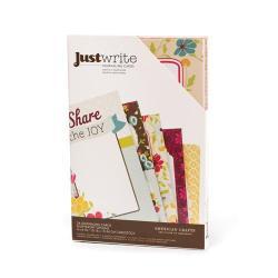 Карточки для журналінгу Just Write, Garden Café, 64011