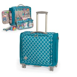 Сумка на коліщатках Trolley Bag – Aqua, We R Memory Keepers, 70962-6