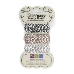 Шнурок SewEasy Fancy Floss Bakers Twine – Neutrals, 71161-2