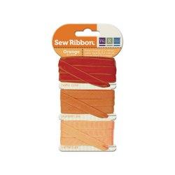 Набір стрічок SewRibbon – Ribbon Set – Orange, 71230-5