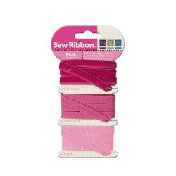 Набір стрічок SewRibbon – Ribbon Set – Pink, 71236-7