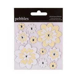 Наклейки Pebbles Dimensional Sitckers – The Mr. & Mrs. Flowers, 732044