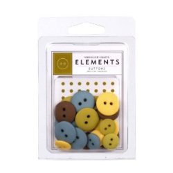 Гудзики Assorted Buttons – Campy, American Crafts, 85536